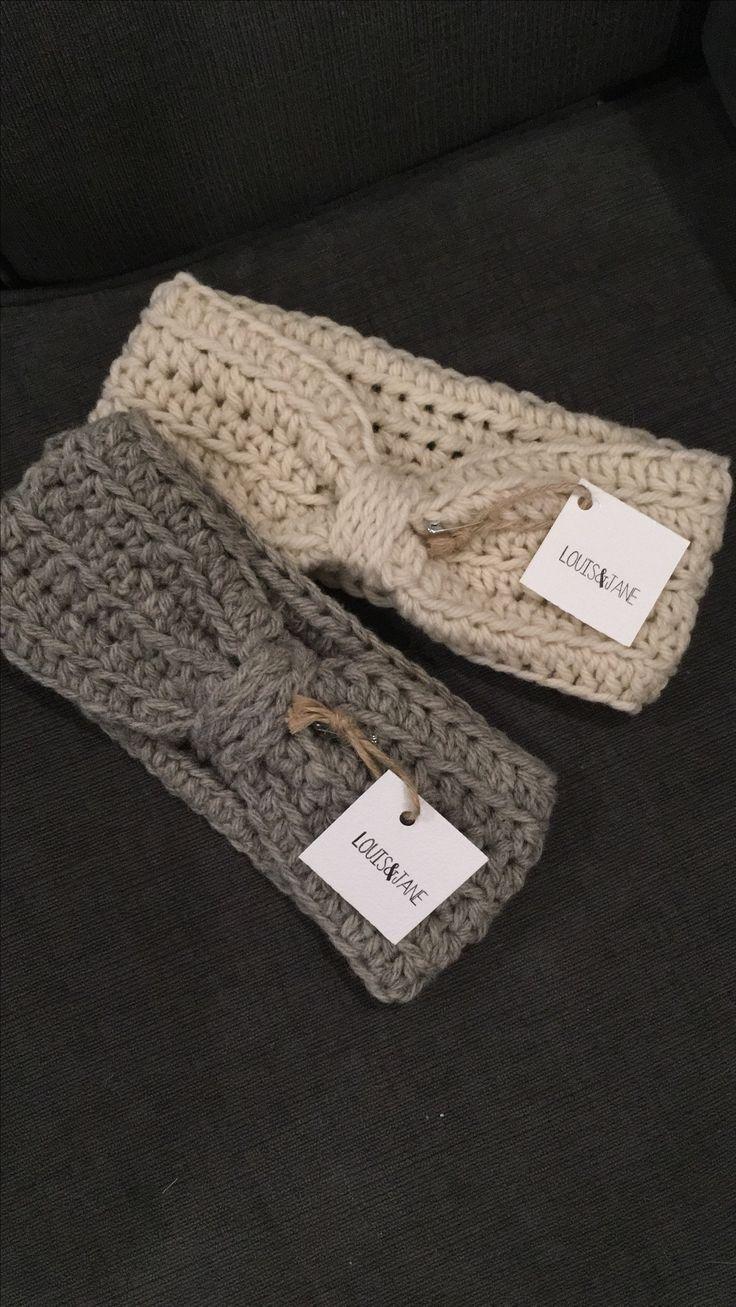 Wool headband ear warmer / Prince Edward Island wool / handmade / headband