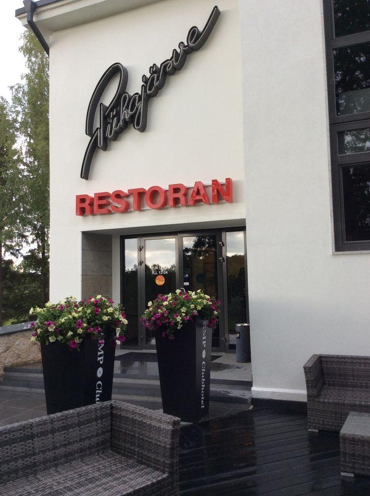 Lovely Pyuhajäärve restaurant in Otepää in GMP Clubhotel