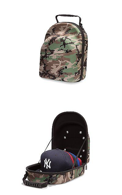 Hats and Headwear 159057: New Era Cap Hat Carrying Carrier Case Handle Fits 6 Hats Camo Bag Zipper Handle -> BUY IT NOW ONLY: $54.99 on eBay!