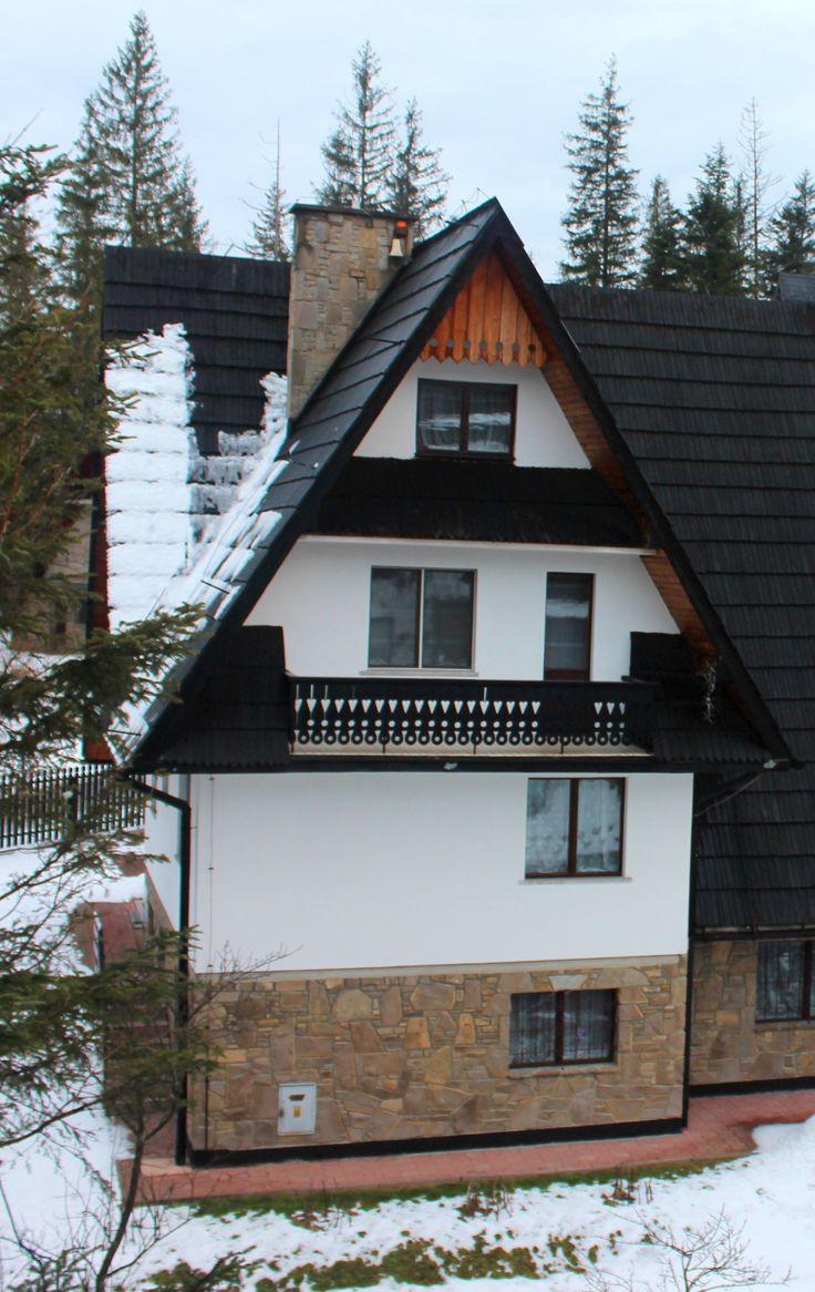 Traditional Zakopane architecture in Zakopane, Poland www.travellinghistory.com