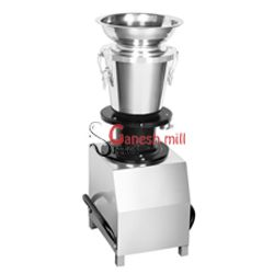 The industrial mixer grinder is a bigger version of mixies which is used as an home appliance for everyday usage. The basic principle behind an industrial mixer grinder is much similar to that of an ordinary mixer used in household except that industrial mixer grinder runs with a higher HP motor ranging from 1.5Hp to 2Hp. The inner blades and leaves of an industrial mixer grinder are huge in making that makes it very easy for crushing the food particles of huge sizes and shapes.