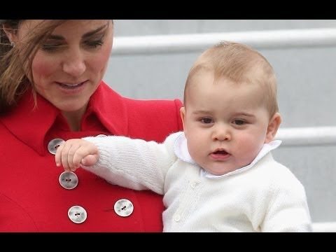 A nice video story: ▶ Prince George Gives His First Royal Wave As Kate And William Arrive In New Zealand - YouTube