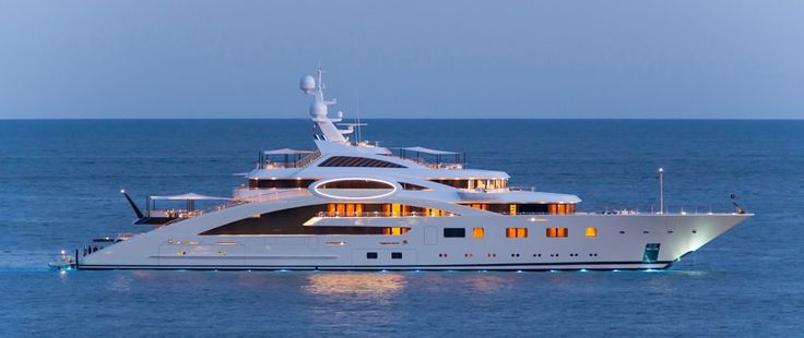 Superyacht Ace, Lurrsen Superyacht, exterior image, Superyacht Design, Andrew Winch Designs