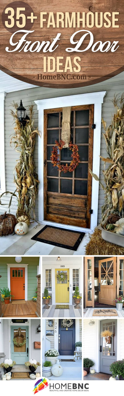 Farmhouse Front Door Ideas