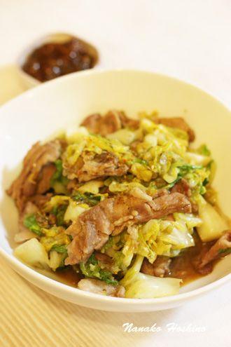 春キャベツと豚バラ肉のふきみそ炒め by 星野奈々子   レシピサイト「Nadia   ナディア」プロの料理を無料で検索