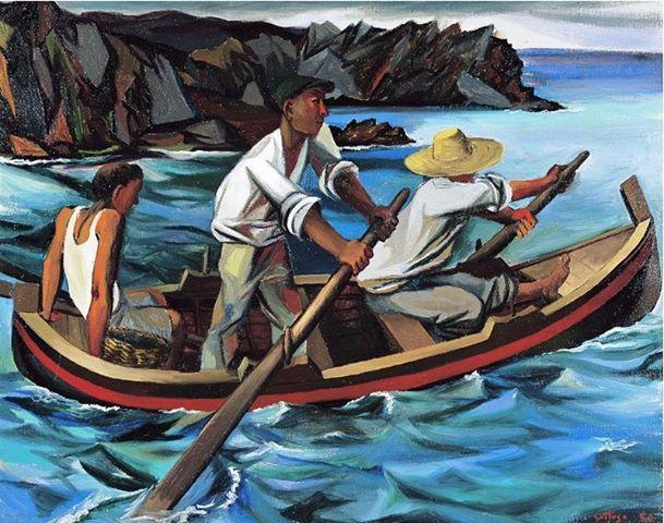 Renato Guttuso - Uscita per la pesca, 1949