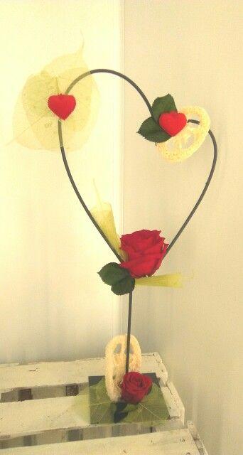 Rosas liofilizadas