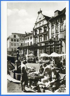 Königsberg (Pr.), Altstädtischer Markt mit Apfeldieb
