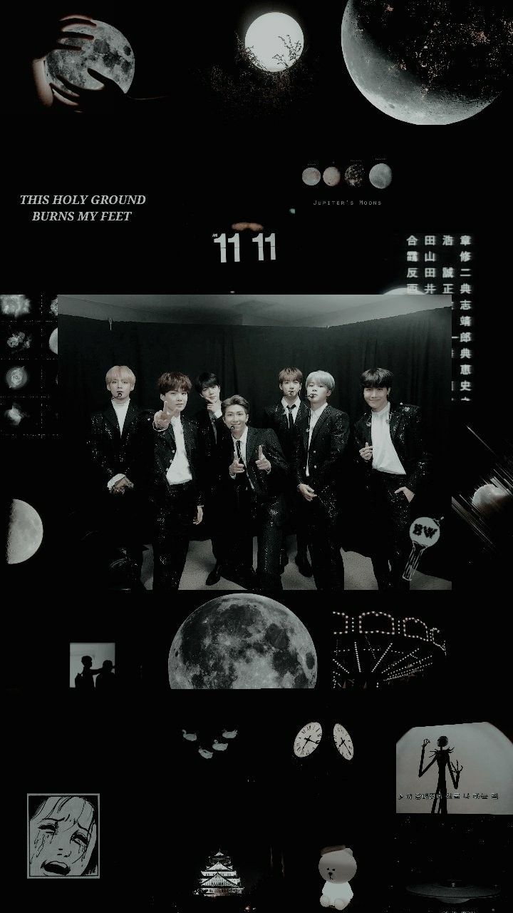 Bts Black Aesthetic Wallpaper Credits To Twitter Btswallppers C Bts Bts Wallpaper Black Aesthetic Wallpaper Aesthetic Wallpapers