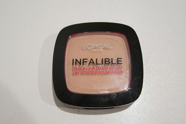 Australian Makeup and Skin care: L'oreal Infalible Powder in Sand Beige
