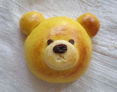 Bear Bun (Japanese Recipe)