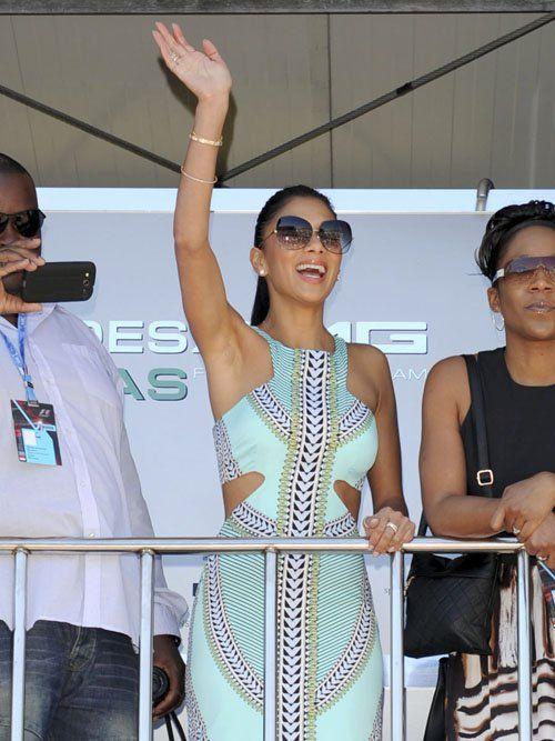 Nicole Scherzinger Monaco Grand Prix