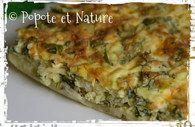 Quiche aux herbes - Arboulastre (recette médiévale) :