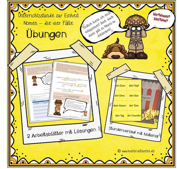 31 best Unterrichtsmaterial Deutsch images on Pinterest