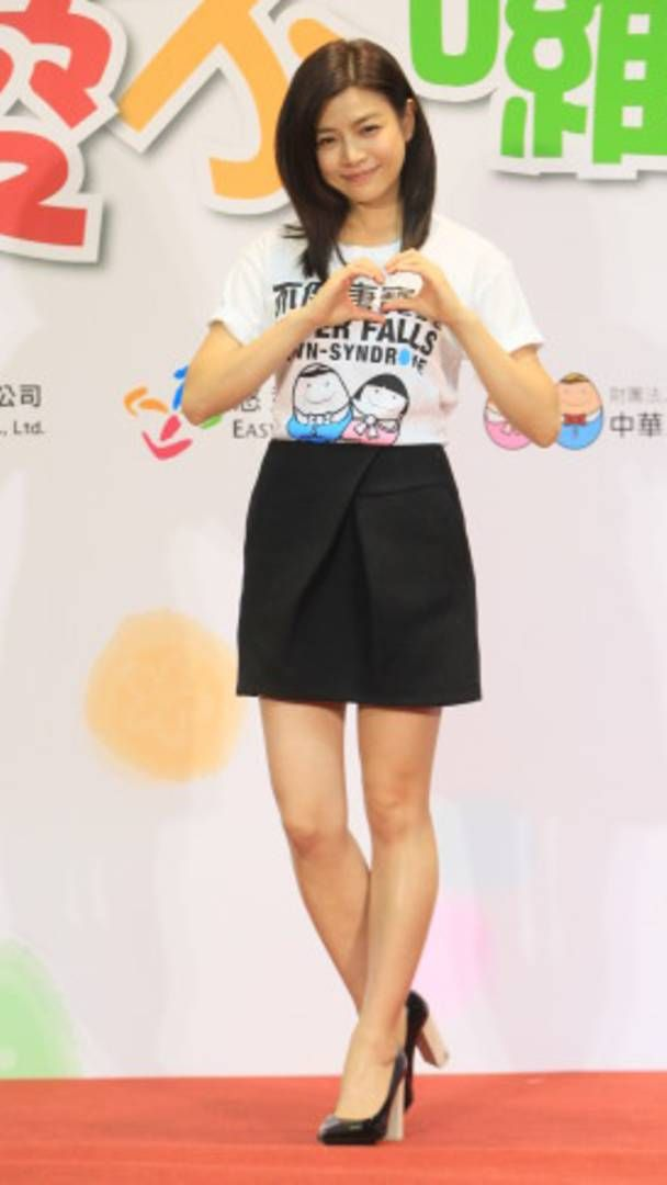 Actress Michelle Chen attends charity activity in Taipei.  http://www.chinaentertainmentnews.com/2015/09/michelle-chen-at-charity-event-in-taipei_14.html