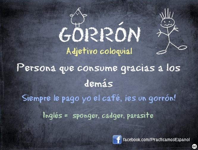#Gorrón