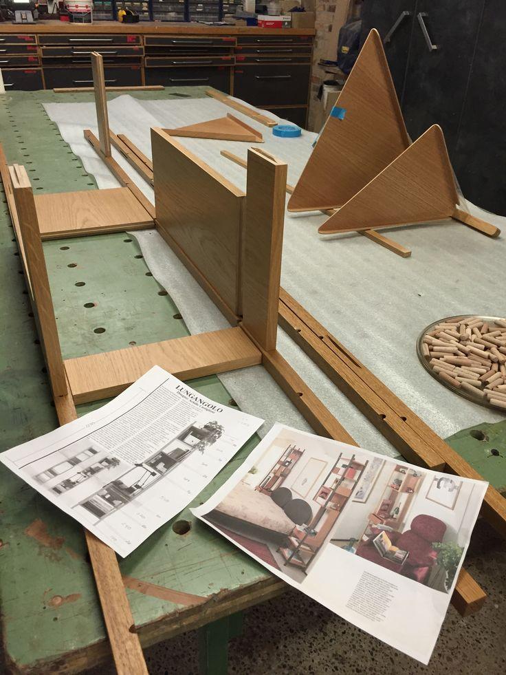 Handmade prototype by Møbelsnedkeri Kjeldtoft. #woodwork
