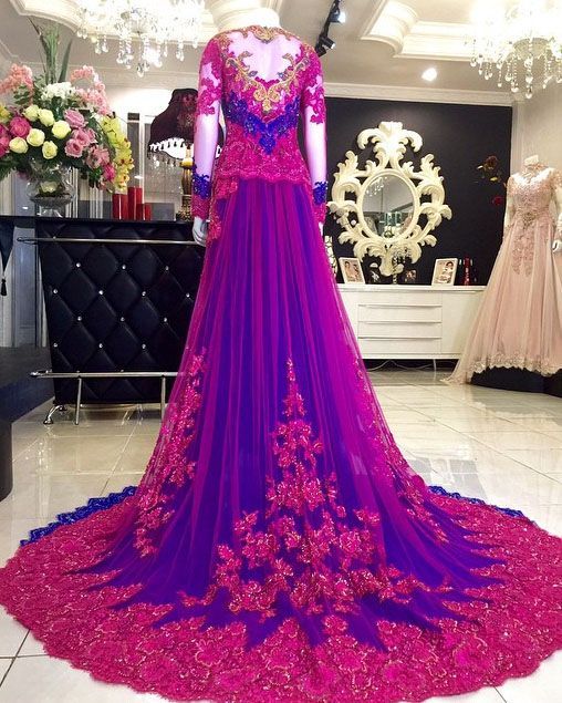 beautiful wedding dress kebaya modern 2016