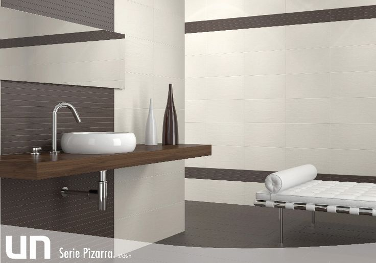 Formatos 27x50 pizarra estancias ba os pavimentos gres for Habitaciones con azulejos