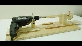 How to make a Mini Lathe Jack Houweling - YouTube