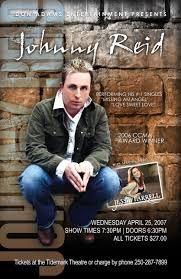 Image result for johnny reid poster