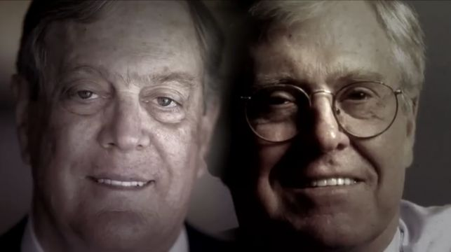 'Koch Brothers Exposed:' Damning Indictment Of The Diabolically Evil Koch Brothers And Their GOP/Tea Party Disciples (Video)
