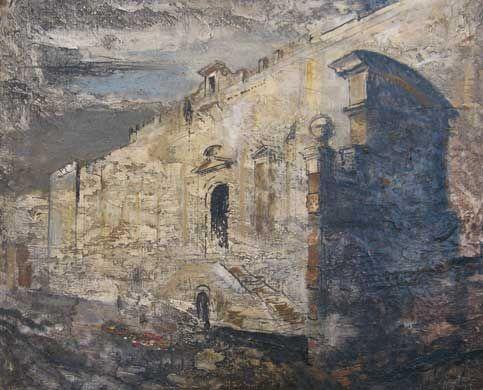 Bolsover Castle, John Piper, Photo Marcel Walker