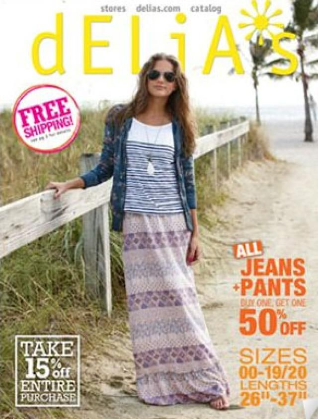 How to Get Free Junior Clothing Catalogs: Delia's Junior Clothing Catalog
