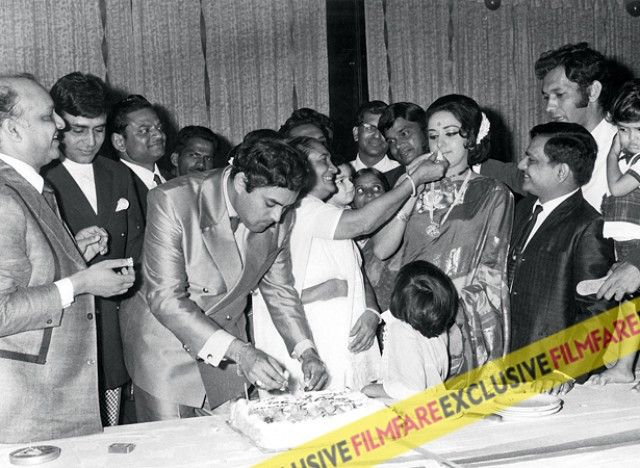 Hema Malini at Sanjeev Kumar's birthday party. The history they shared - and the love he had for her...