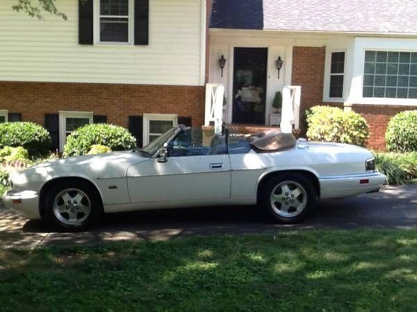 1995 Jaguar XJS Convertible $5,500 Ramseur, NC #ForSale # ...