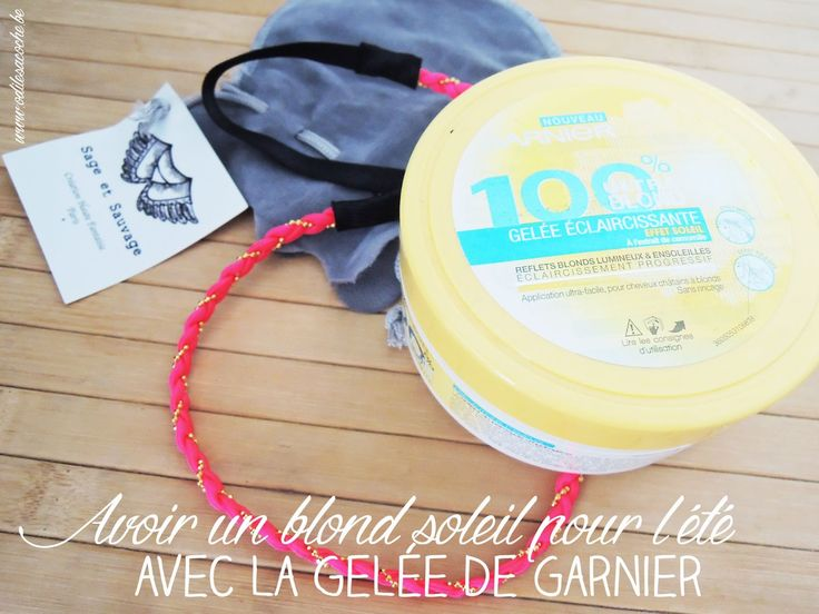 Gelée éclaircissante Garnier // Odile Sacoche