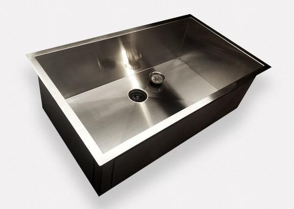New Zero Radius Sink Wins The Kitchen Show Design Eliminates Dirty Seam Around