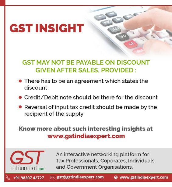 Get to know more such interesting facts on #GST at #GSTIndiaExpert - debit note issued by supplier