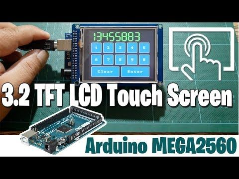 Arduino 3 2 Tft Lcd Touch Screen With Arduino Mega2560