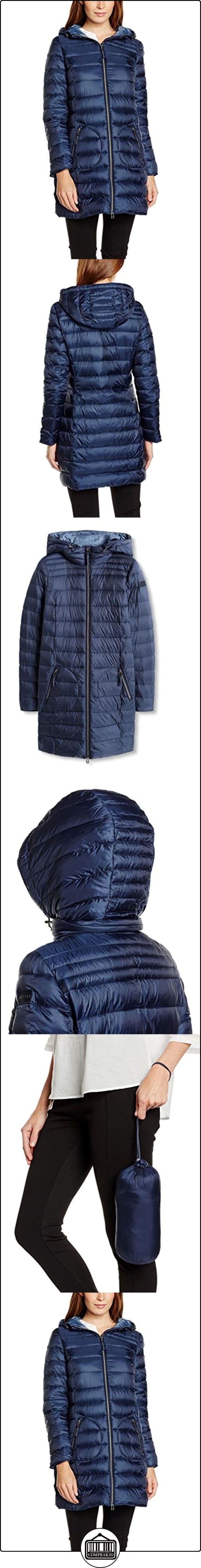 ESPRIT 076EE1G004, Abrigo Mujer, Azul (NAVY), 34  ✿ Abrigos y chaquetas ✿