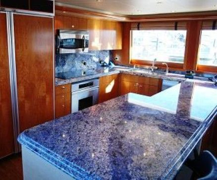 17 Best Images About Blue Kitchens On Pinterest Blue Granite Recycled Materials And