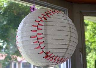 life, love & puppy prints: a baseball baby shower!