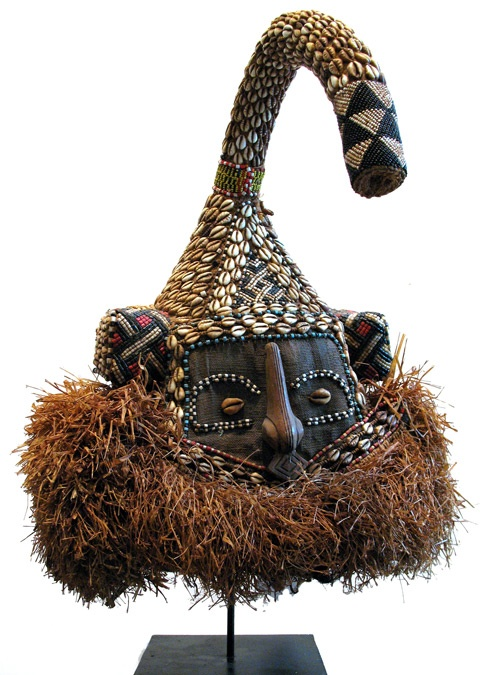 Traditional Mask of the Kuba People