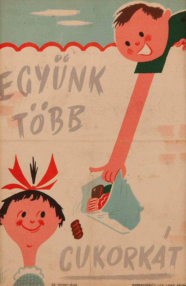 Somogyi János: Együnk több cukorkát 1960-as