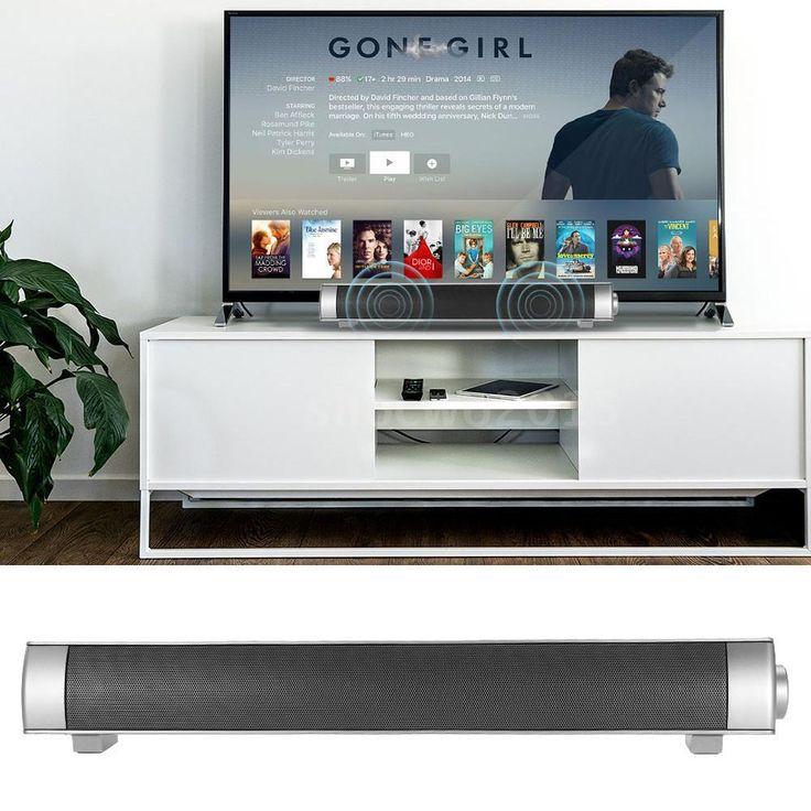 3D Surround Sound Bar System Subwoofer Wireless Bluetooth Soundbar Speaker U3K0