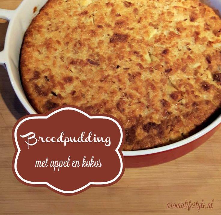 Broodpudding is een ideale en lekkere manier om oud brood op te maken. Ik geef je het 'normale' en het vegan recept en beide zijn heerlijk.