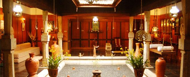 Kerala style nalukettu house my dream house pinterest for Modern nalukettu house plans