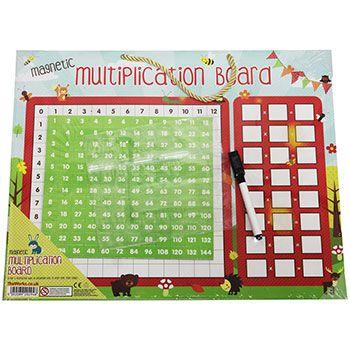 Magnetic Multiplication Board - http://tinyurl.com/y96qpvvv