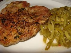 Baked Pork Chops. Tender and juicy.