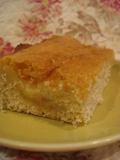I was looking for the German Butter Cake recipe from Cake Boss, but cannot find it anywhere, this will have to do I suppose.  His had cinnamon topping added to it.