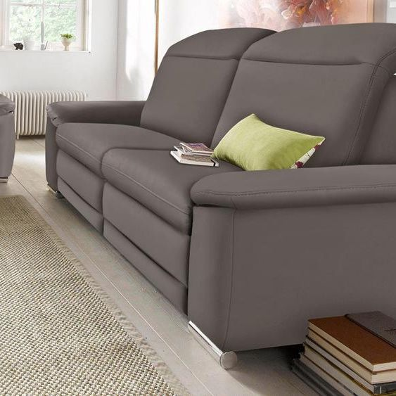Raum Id 3 Sitzer Sofa Grau Kunstleder Komfortabler Federkern Fsc Zertifiziert In 2020 Furniture Sofa Home