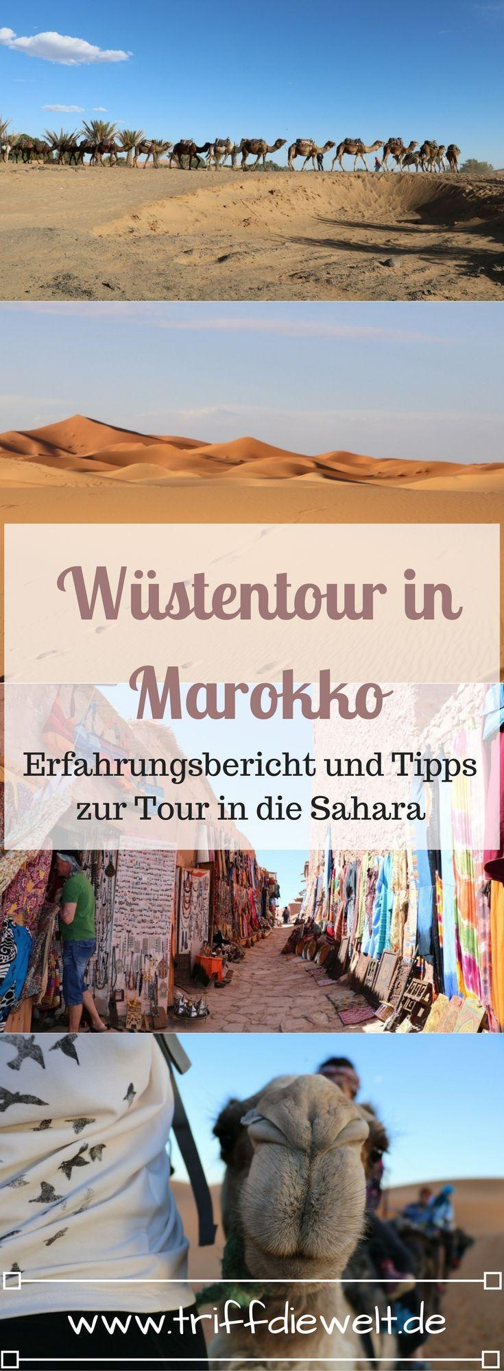 Eine Wüstentour in Marokko ist eine typische Touristenattraktion. Aber was gibt es für die Tour in die Sahra zu beachten? Wie teuer sollte sie sein und was sollte man einpacken? Hier findest du Tipps und Hinweise.