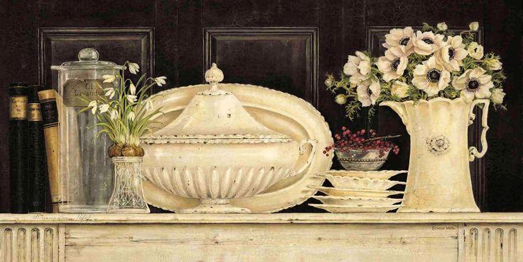 Creamware Collection - Anemonies (Kathryn White)