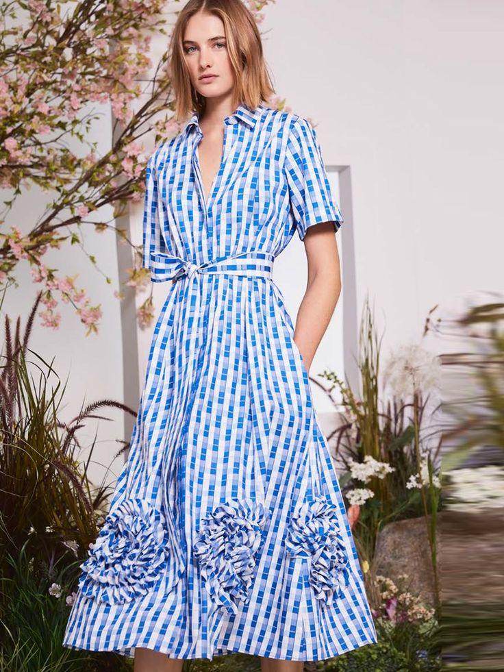 Alexis Clothing 'Zhenya Dress Light Blue Gingham' Dresses |Shop Splash www.shopsplash.com