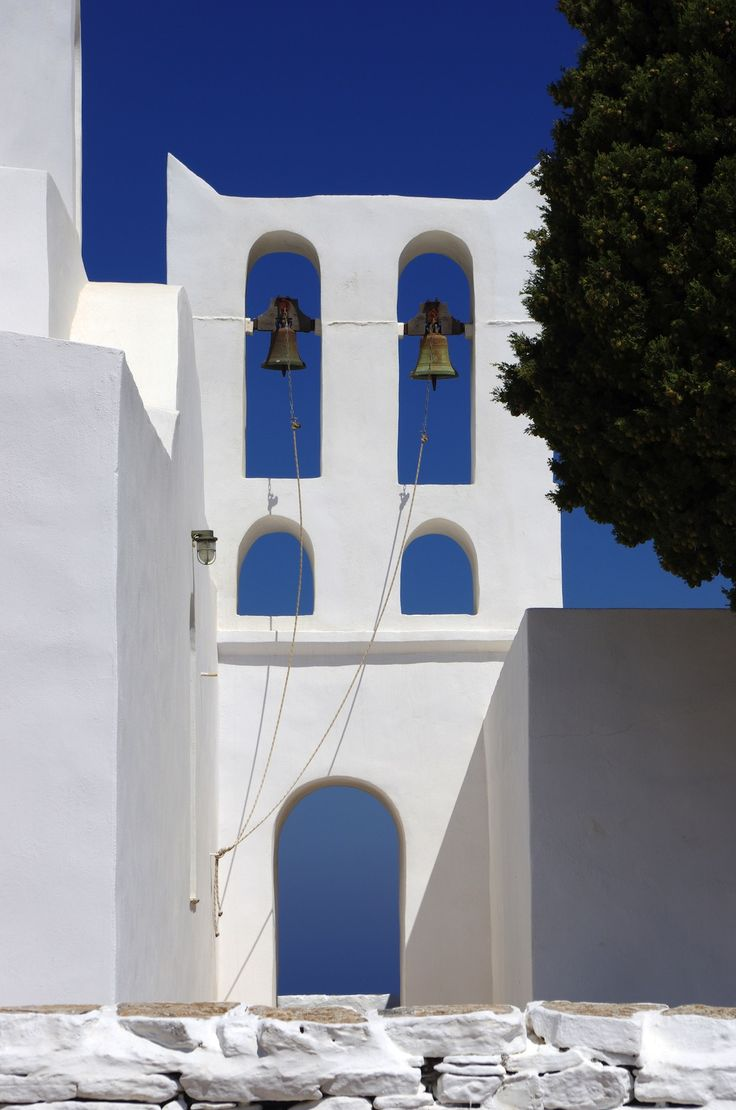 Saint Andrew church on Sifnos island